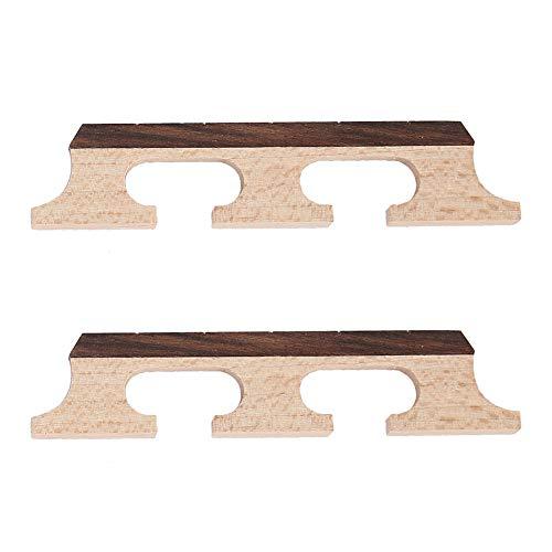 Banjo Bridge, Wooden Bridge for 5-String Banjo Accessories