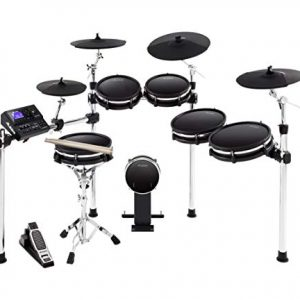 Alesis DM10 MKII Pro Kit | Ten-Piece Electronic Drum Kit with Mesh Heads