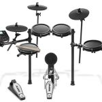 Nitro Mesh Kit - Eight-Piece Electronic Drum Kit with Mesh Heads(Renewed)