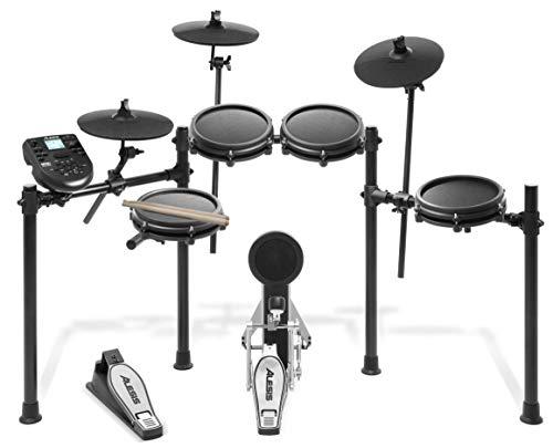 Nitro Mesh Kit - Eight-Piece Electronic Drum Kit with Mesh Heads(Renewed)