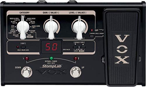 VOX STOMPLAB2G Modeling Guitar Multi-Effects Pedal