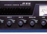 5-Channel Home Audio Power Amplifier – Mixer w/ 70V Output – 600 Watt Rack Mount, Headphone, Mic Talkover for PA System Great for Commercial Entertainment Use -Pyle PT610