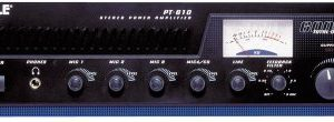 5-Channel Home Audio Power Amplifier - Mixer w/ 70V Output - 600 Watt Rack Mount, Headphone, Mic Talkover for PA System Great for Commercial Entertainment Use -Pyle PT610