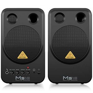 Behringer MS16 High-Performance Active 16-Watt Personal Monitor System,Black