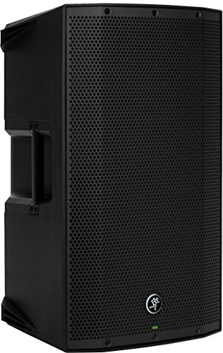 Mackie THUMP Boosted Series, 12-Inch 1300-Watt Loudspeaker with Bluetooth, High Performance Amplifiers, Built-in Mixers, and Power Factor Correction - Black (THUMP12BST)