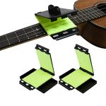 """LUTER 2Pcs/Pack Guitar Fretboard String Cleaner Scrubber Cleaning Cloth Maintenance Care Kit for Guitar Bass Mandolin Ukulele 11x6.6cm/4.33x2.60"""""""
