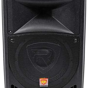 Rockville RPG8 Powered Active 400 Watt 2-Way DJ PA Speaker System, 8 inch