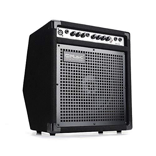 Coolmusic DK-35 50W Personal Monitor Amplifier Electric Drum Amplifier PA Workstation Keyboard Speaker