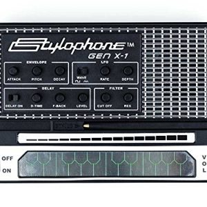 STYLOPHONE GEN X-1 Portable Analog Synthesizer: with Built-in Speaker, Keyboard and Soundstrip, LFO, Low pass filter, Envelope, Sub-octaves & Delay