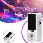 Zinc Alloy High Precision Guitar Chromatic Tuner Effect Pedal Musical Instrument Accessaries 4