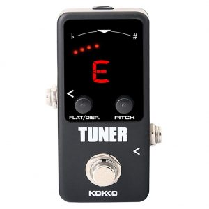 Electric Guitar Tuner Effects Mini Pedal Guitarra tuning