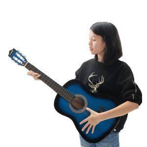 Folk Guitar 6 Strings Acoustic Guitar Basswood